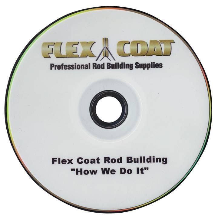 FLEX COAT DVD-How We Do It Rod Building DVD
