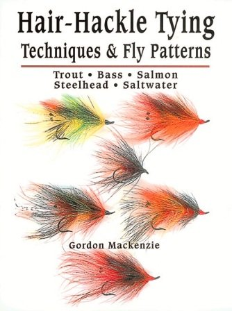Book-Hair Hackle Techniques & Fly Tying-MacKenzie