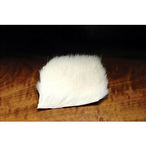 Hareline Calf Body Hair-White