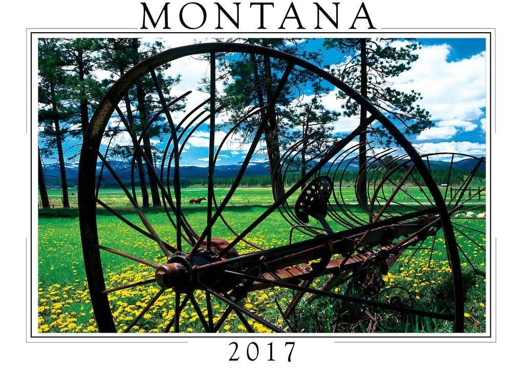 CREATIVE Montana Calendar-2017