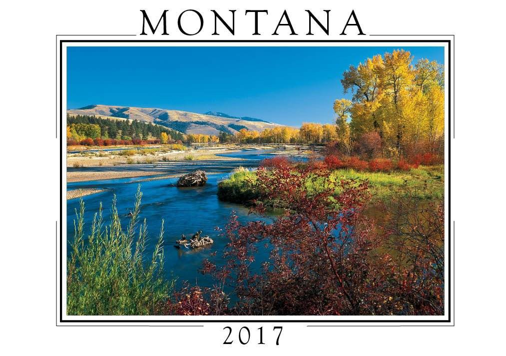 CREATIVE Montana Pocket Calendar-2017