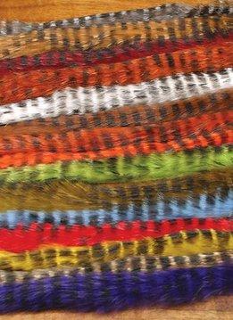 Hareline Bar Dyed Zonker Strips