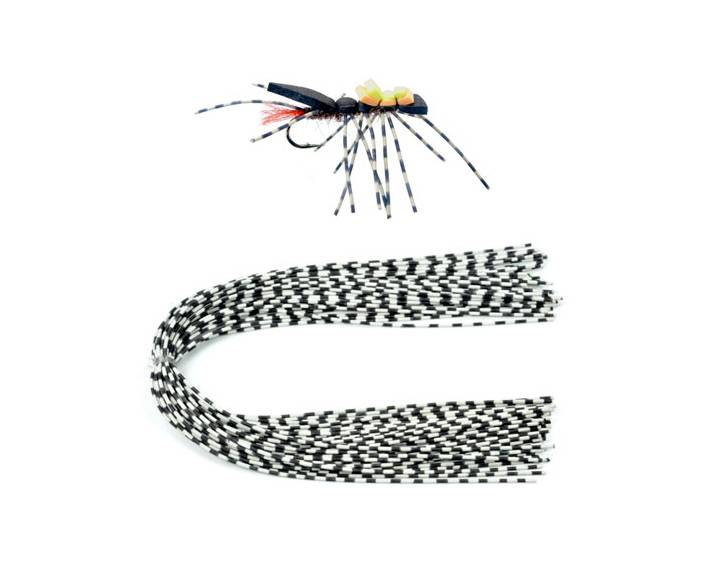 Montana Fly Company Speckled Centipede Legs