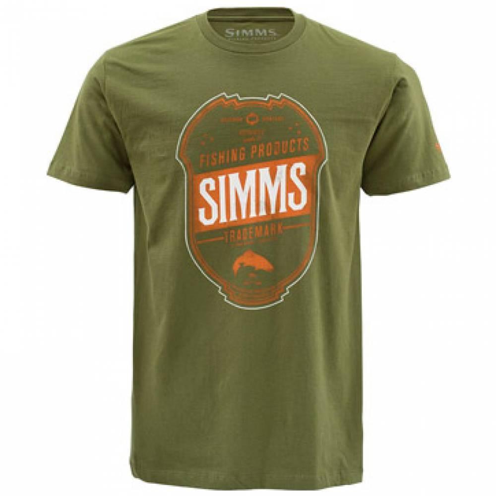 Simms Trademark S/S T-Shirt