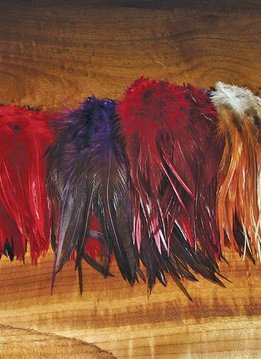 Hareline Strung Saddle Hackle