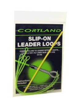 Cortland Braided Slip-On Leader Loops