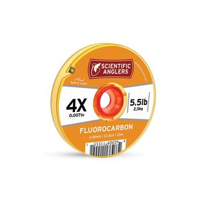 Scientific Anglers Fluorocarbon Tippet w/ Cutter - 30 M