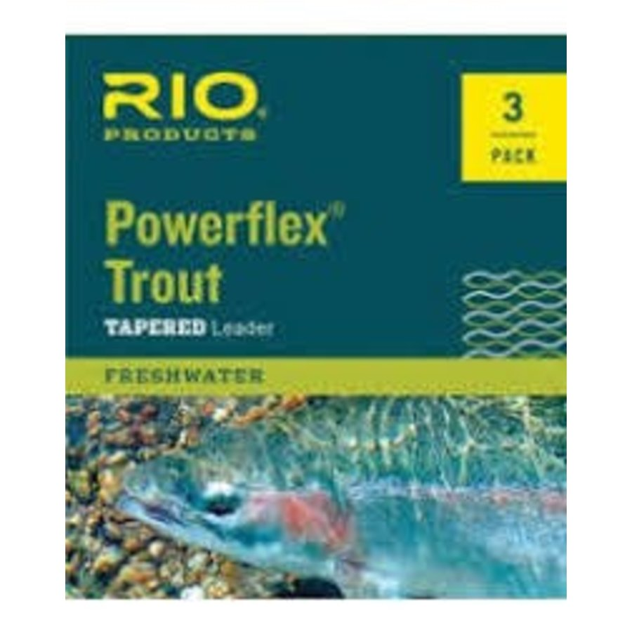 Rio powerflex trout leader best fly fishing leaders for for Ruby river fishing report