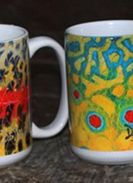 DeYoung Fish Flank Coffee Mug