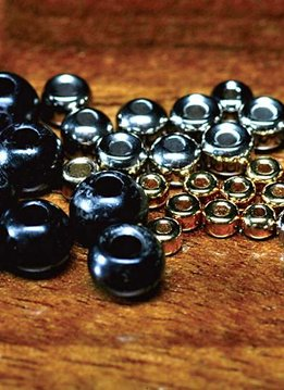 Hareline Tungsten Beads - 10 Pack