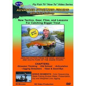 DVD-Advanced Streamer Fishing - Galloup