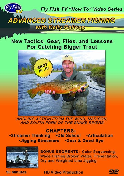 DVD-Advanced Streamer Fishing - Galloup