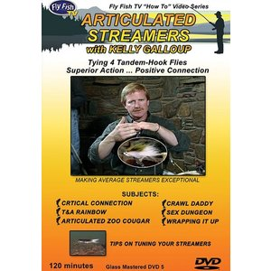 DVD-Articulated Streamers - Galloup