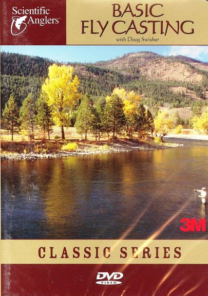 Scientific Anglers DVD-Basic Fly Casting Reg $20