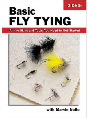DVD-Basic Fly Tying-Nolte