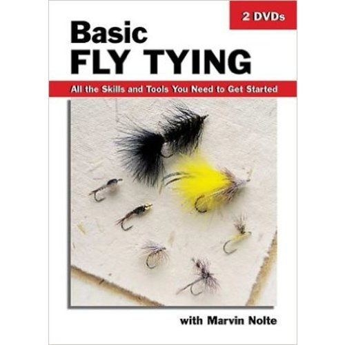 DVD-Basic Fly Tying-Nolte