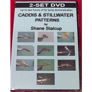 DVD-Caddis and Stillwater Patterns- Stalcup