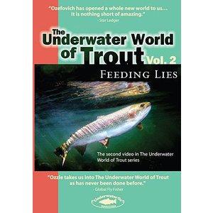 DVD-Underwater World of Trout-Vol 2-Feeding Lies-Ozefovich