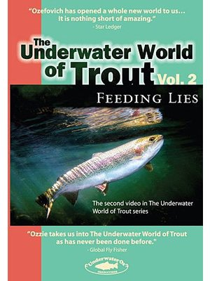 DVD-Underwater World of Trout-Vol 2-Feeding Lies-Ozefovich