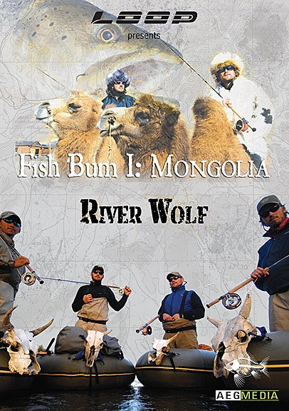 DVD-Fish Bum Diaries Vol 1 Mongolia