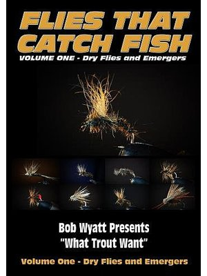 DVD-Flies That Catch Fish: Vol 1 Dries/Emergers