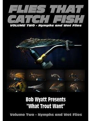DVD-Flies That Catch Fish: Vol 2 Nymphs/Wet Flies