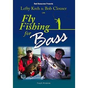 DVD-Fly Fishing For Bass-Kreh & Clouser
