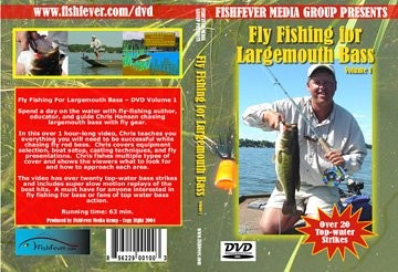 DVD-Fly Fishing for Largemouth Bass