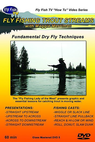 DVD-Fly Fishing Trout Streams-Merriman