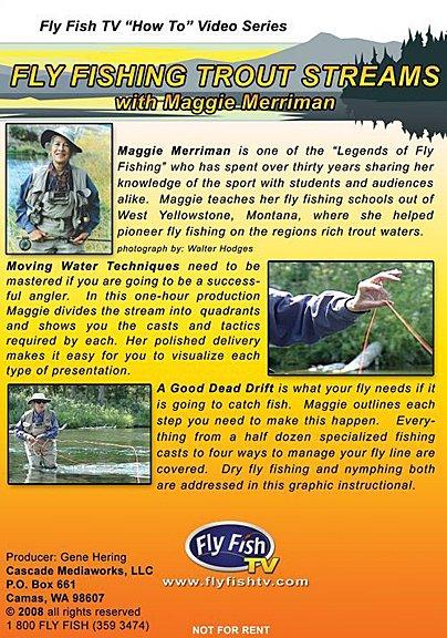 DVD-Fly Fishing Trout Streams-Merriman