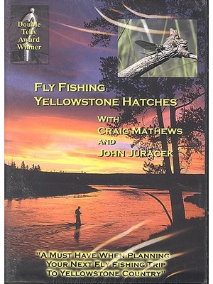 DVD-Fly Fishing Yellowstone Hatches