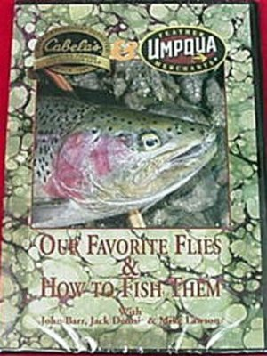 DVD-Our Favorite Flies: Barr, Dennis & Lawson