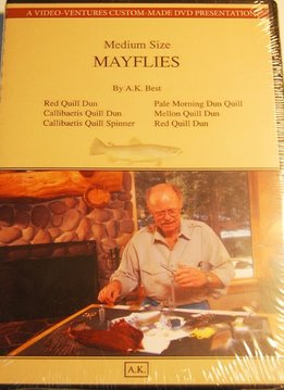 DVD-A.K. Best-Tying Mayflies (Med Size)