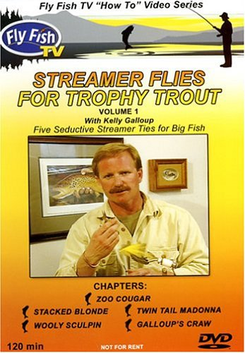DVD-Streamer Flies for Trophy Trout Vol 1-Galloup