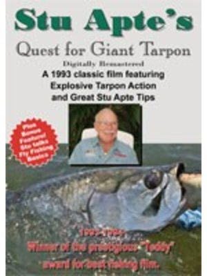 DVD-Stu Apte's Quest for Giant Tarpon