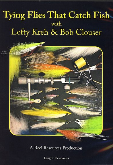 DVD-Tying Flies that Catch Fish-Kreh/Clouser