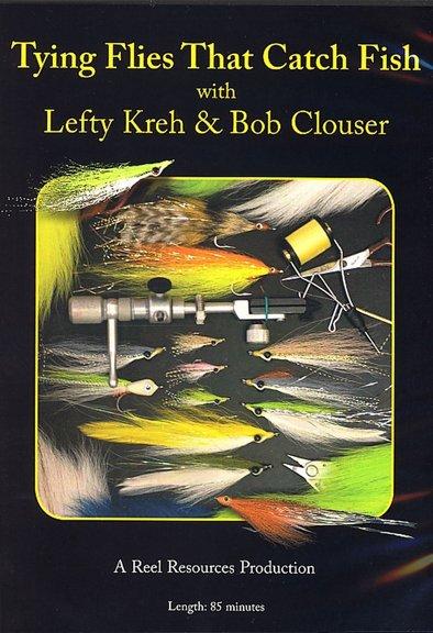DVD-Tying Flies that Catch Fish-Kreh/Clouser