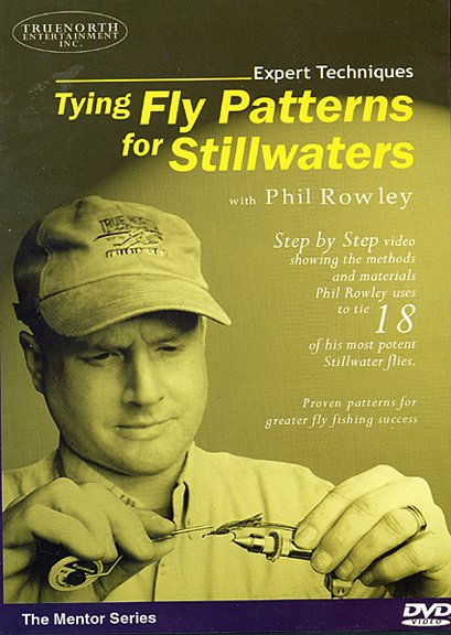 DVD-Tying Fly Patterns for Stillwaters-Rowley