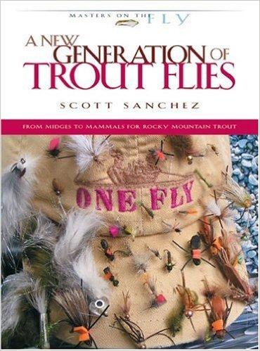Book-A New Generation of Trout Flies-Sanchez