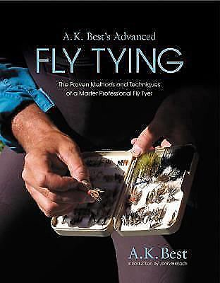 Book-Advanced Fly Tying-A.K. Best