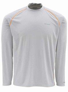 Simms SolarFlex Long Sleeve Crewneck Solid Shirt