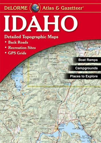 Book-DeLorme Atlas/Gazetteers