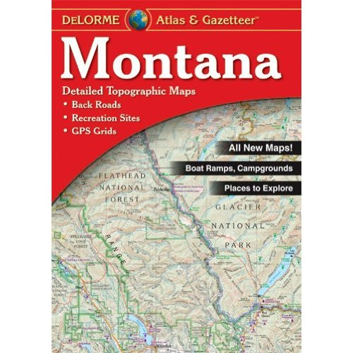 Book-DeLorme Atlas/Gazetteers