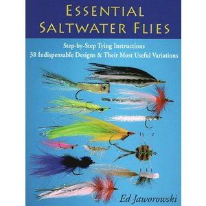 Book-Essential Saltwater Flies- Jaworowski