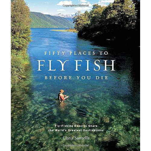 Book-Fifty Places to Fish Before You Die-Santella