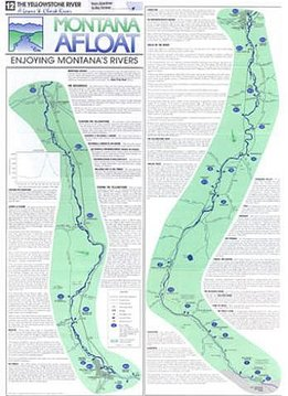 Map-Montana Afloat Maps