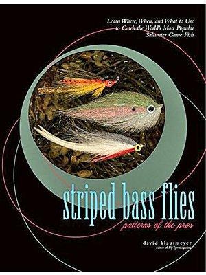 Book-Striped Bass Flies: Patterns of the Pros- Klausmeyer