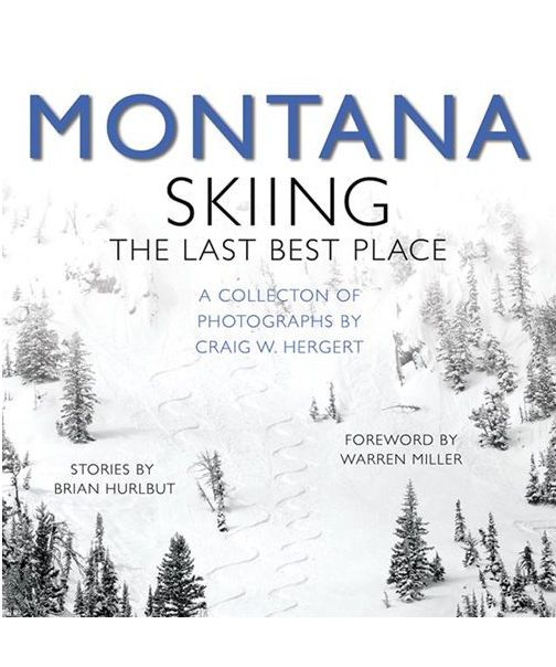 Montana Skiing Book By Craig Hergert