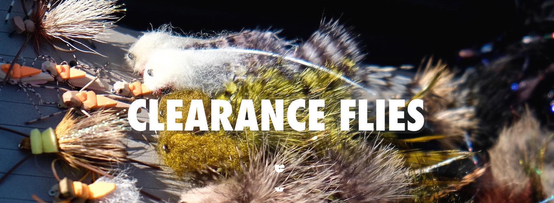 Clearance fishing flies flies on sale fly shop for Fishing outlet clearance