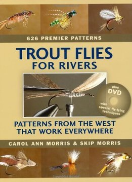 Book-Trout Flies for Rivers- Morris